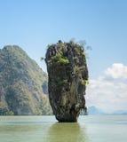James Bond Island, Thailand. Beautiful landscape of James Bond Island or Koh Tapu in Phang Nga Bay, Thailand Royalty Free Stock Photo