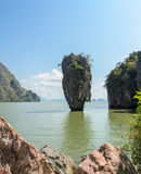 James Bond Island in Thailand. Beautiful landscape of James Bond Island or Koh Tapu in Phang Nga Bay, Thailand Stock Images