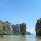James Bond Island in Thailand Royalty Free Stock Images