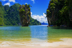 James Bond Island Thailand Stock Images