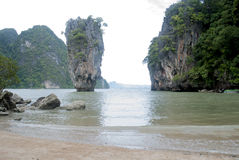 James-Bond-Island. James Bond Island:Thailand Holidays Royalty Free Stock Photography