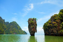 James Bond Island, Thailand Stock Image