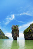 James Bond Island, Thailand Stock Images