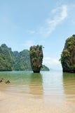 James Bond Island, Thailand Stock Image