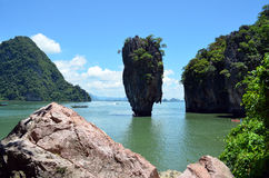 James Bond Island (Thailand) Stock Photo