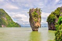 James Bond island in thailand, ko tapu Stock Photos