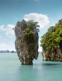 James Bond island, Thailand. James Bond island near Phuket in Thailand Stock Image