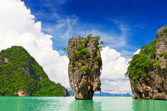 James Bond Island, Thailand Royalty Free Stock Image