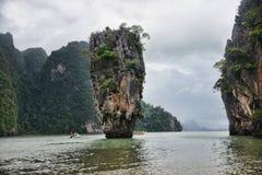 James Bond Island Thailand. James Bond Island in Phang Nga Bay, Southern Thailand Royalty Free Stock Images