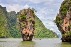 James Bond island Thailand travel destination. Stock Photo