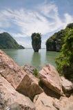 James Bond island, Thailand. View of James Bond island near Phuket, Thailand Royalty Free Stock Photography