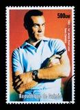 James Bond Postage Stamp Stock Photos
