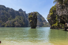 James Bond Rock in Thailand Stock Photo