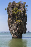 James Bond Rock in Thailand Royalty Free Stock Images