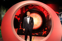 James Bond Wax Figure Stock Photos