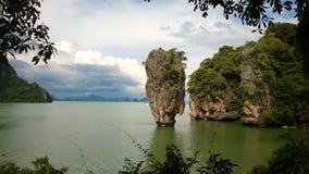 'James Bond' wyspa, Khao Phing Kan Zdjęcie Stock