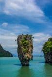 James Bond wyspa, Tajlandia (Koh Tapoo) Obrazy Royalty Free