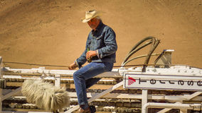 James Brolin ( Jeff Hart ).The 33. James Brolin in the role of driller ( Jeff Hart) during the filming of The 33.Febrery 2014.Atacama desert.Copiapo.Chile stock photos