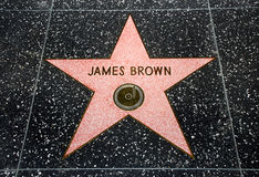 The James Brown star Royalty Free Stock Images