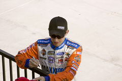 James Buescher Signing Autograph Royalty Free Stock Photography