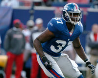 James Butler. New York Giants DB James Butler. (Image taken from color slide royalty free stock photo