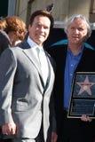 James Cameron, Arnold Schwarzenegger imagen de archivo libre de regalías