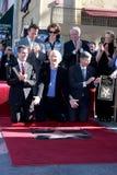 James Cameron, Arnold Schwarzenegger, Sigourney vävare royaltyfri fotografi