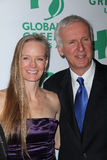 James Cameron, Suzy Amis Imagem de Stock Royalty Free