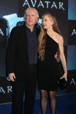 James Cameron, Suzy Amis Foto de Stock