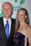 James Cameron, Suzy Amis Fotografia Stock