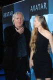 James Cameron,Suzy Amis Royalty Free Stock Images
