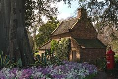 James Cook's cottage Stock Image