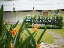 James Cook University Singapore Imagem de Stock Royalty Free