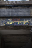 James Court em Edimburgo Fotografia de Stock