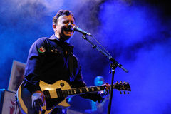 James Dean Bradfield, singer of Manic Street Preachers Royalty Free Stock Photography