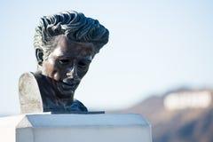 James Dean en el observatorio fotografía de archivo libre de regalías