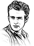 James Dean Stock Image