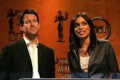 James Denton,Rosario Dawson Royalty Free Stock Photography