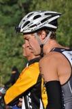 james för huez för alpecunnama D triathlon Arkivfoton