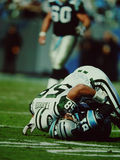 James Farrior New York Jets Stock Photo