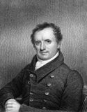 James Fenimore Cooper. (1789-1851) on engraving from 1834. American writer. Engraved by E.Scriven and published in ''National Portrait Gallery of Distinguished Stock Images
