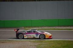 James Fischer Ferrari 458 Challenge Evo at Monza Stock Photos