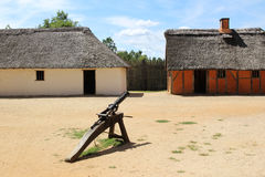 James Fort in Jamestown Settlement Royalty Free Stock Images