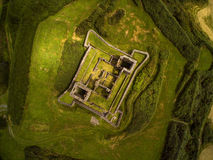 James Fort. In Kinsale from above. Co.Cork,Ireland Royalty Free Stock Photo