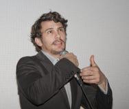 James Franco bij Film Fest stock foto's