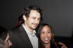 James Franco with Fan at Film Fest Royalty Free Stock Photography