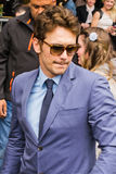 James Franco at the Hollywood Walk of Fame Ceremony. LOS ANGELES - MARCH 7 : James Franco at the Hollywood Walk of Fame Ceremony for James Franco at 6838 Royalty Free Stock Image