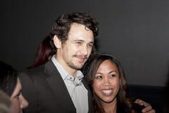 James Franco met Ventilator bij Film Fest royalty-vrije stock fotografie