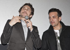 James Franco and Val Lauren at Film Fest Royalty Free Stock Photo