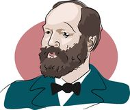 James Garfield Royalty Free Stock Photo